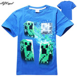 Freddy's Fazbear Pizza Minecraft Jurassic Park Childrens Kids Clothing tee t-shirt - Animetee - 10