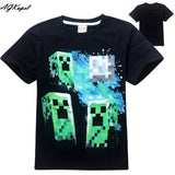 Freddy's Fazbear Pizza Minecraft Jurassic Park Childrens Kids Clothing tee t-shirt - Animetee - 4