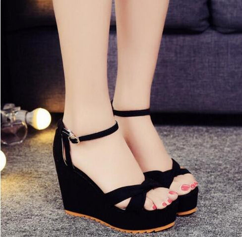 335725e9263225 XDA 2017 Luxury Designer Cross strap Wedge Sandals Rope Heels Women Pl –  2018 AT 142 30 (Animetee.com Friends)