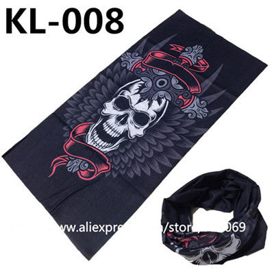 Scarf Bicycle Motorcycle Bandanas Variety Turban Hood Magic Headband Veil Head Scarves Multi Function Face Mask Wrap