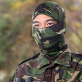 18 Style Tight Multicam Camouflage Balaclava Tactical Airsoft Paintball Motorcycle Bicycle Army Helmet Protection Full Face Mask