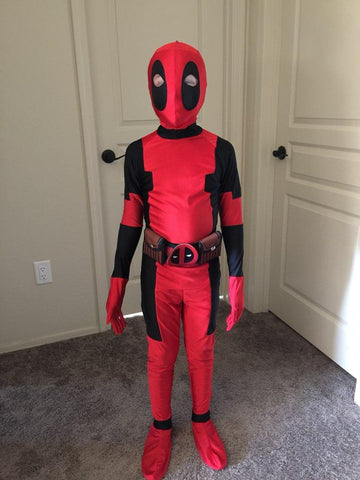 cagiplay children deadpool costume halloween costume for kids boys party cosplay disfraces carnival