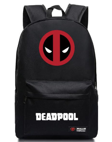a3d7deb18388 2016 Marvel Backpack for teenagers Deadpool Printing School bags Candy  Color Unisex Mochila ...