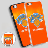 NEW NEW York Knicks Phone Ring Holder Soft TPU Silicone Case Cover for iPhone 4 4S 5C 5 SE 5S 6 6S 7 Plus