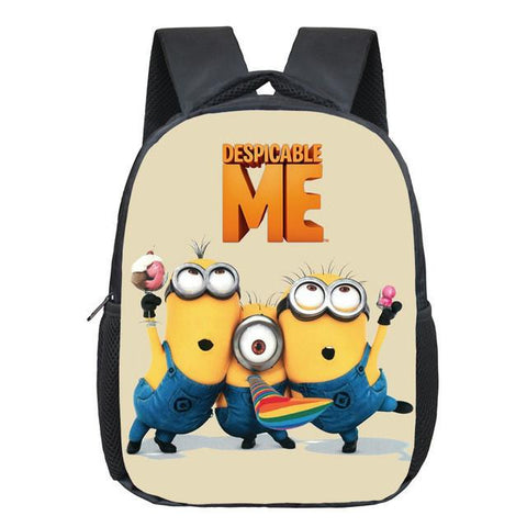 a60810e234 New 12 Inches Printing Cartoon Minions Kids Baby School Bags Boys Back –  2018 AT 142 30 (Animetee.com Friends)