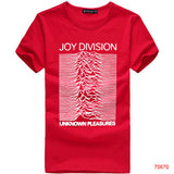 European Size Joy Division Unknown pleasures Tee T-Shirt Rock and Roll - Animetee - 12