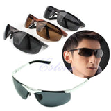 Aluminum Magnesium Men's Sunglasses Polarized Coating Mirror Sun Glasses oculos Male Eyewear Accessories For Cool Men