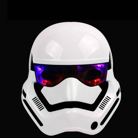 100% Quality Star Wars Stormtroopers Helmet Model 3d Illusion Nightlight Led Colourful Mixed Flash Light Soldier Mask Model Toys Action & Toy Figures