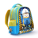 2017 New Arrival Despicable Me 2 Kids Cartoon Bags Children Backpacks Boy Minions Schoolbag Mochila Escolar Infantil School Bags