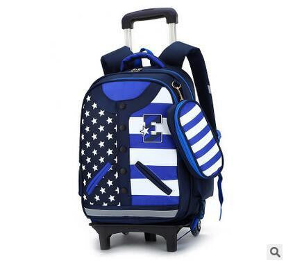 faaf2717fd Kid s Travel Trolley luggage Bags On wheels Students Rolling Backpacks –  2018 AT 142 30 (Animetee.com Friends)