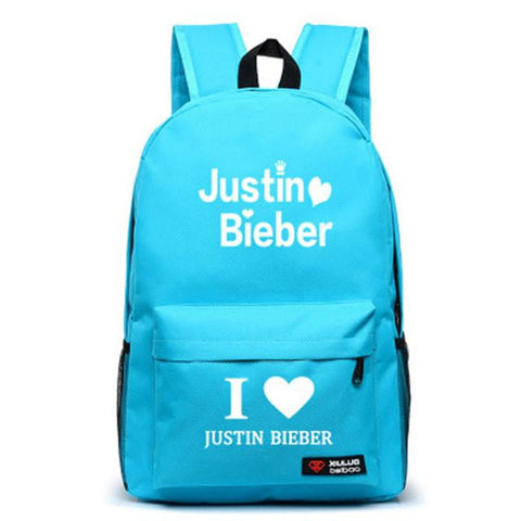 Justin Bieber Backpack Cover