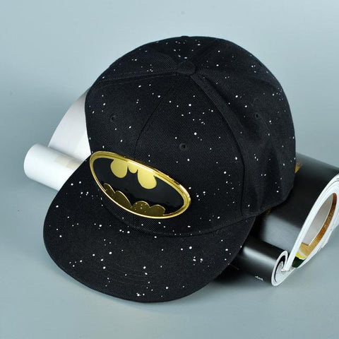 9cbc10d20 Free shipping 2015 Fashion Cartoon Snapback Caps Batman Hip-Hop hat Spring  and summer sun Benn baseball cap