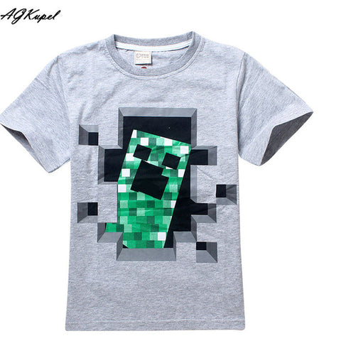 Freddy's Fazbear Pizza Minecraft Jurassic Park Childrens Kids Clothing tee t-shirt - Animetee - 1