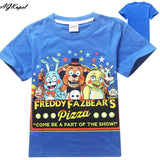 Freddy's Fazbear Pizza Minecraft Jurassic Park Childrens Kids Clothing tee t-shirt - Animetee - 5
