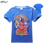 Freddy's Fazbear Pizza Minecraft Jurassic Park Childrens Kids Clothing tee t-shirt - Animetee - 3