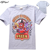 Freddy's Fazbear Pizza Minecraft Jurassic Park Childrens Kids Clothing tee t-shirt - Animetee - 12