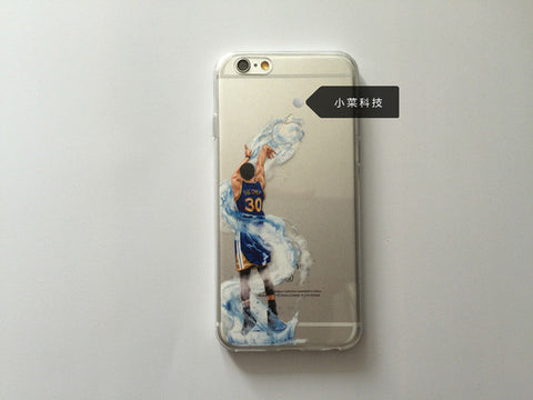 separation shoes 2745d 7ee8a Golden State Warriors Stephen Curry phone case Cover for iPhone 5 5s se 7 6  6S Plus High quality tpu Phones Cases curry