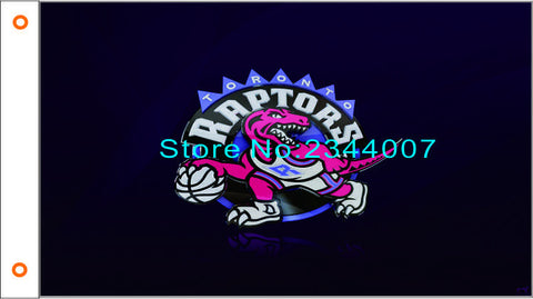 Toronto Raptors NBA 3X5FT flag 90 x 150 cm 100% Polyester free shipping 105