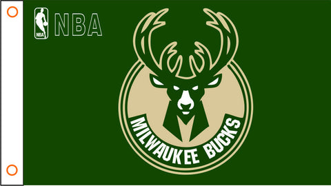 Milwaukee Bucks 3X5FT bandera 90 x 150 cm 100% Polyester 003