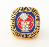 Fast shipping 1989 detroit pistons Dumars world series championship basketball ring size 11