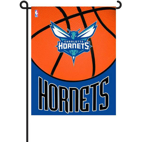 Garden Flag Charlotte Hornets sports team 35*45 CM 100D Polyester Digital Printing Metal Grommets Customized New Qualified