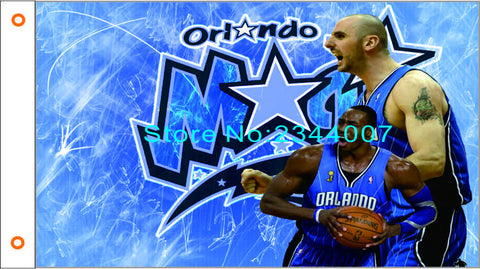 Orlando Magic Flag  3X5FT 90 x 150 cm 100% Polyester NBA banner 104