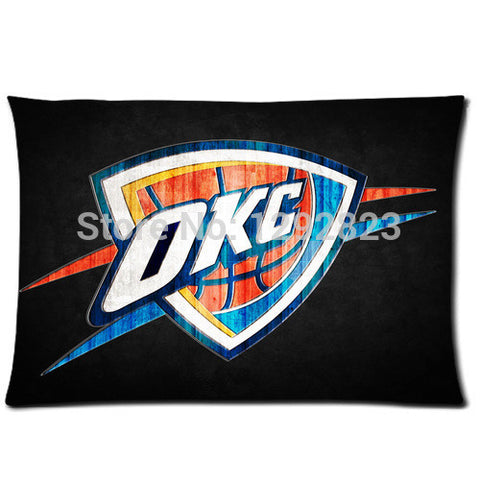 Flannel Oklahoma City Thunder Custom Zippered Pillow Case 20x30 (one side) PC-1280