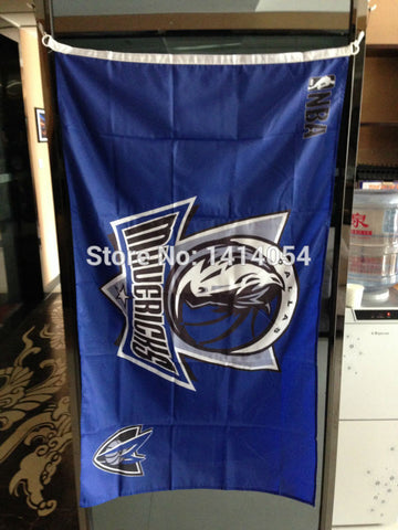 Dallas Mavericks Flag 150X90CM NBA 3X5FT Banner 100D Polyester grommets custom009, free shipping