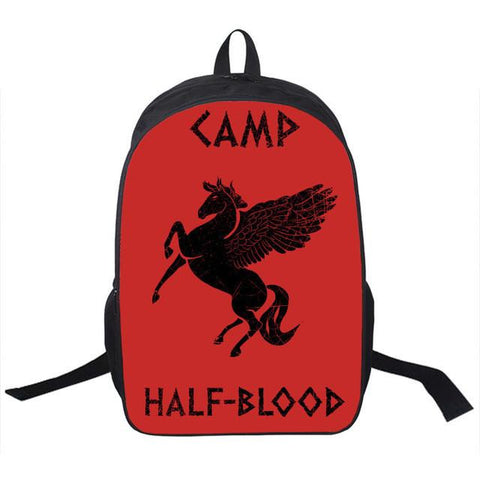 Percy Jackson Camp Half Blood Backpack For Teenagers Girls Boys
