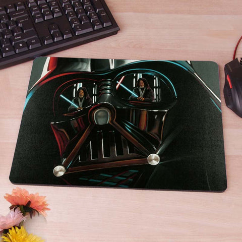 Darth, Vader Mask, Star Wars Mousepad Mouse Pad pc mac laptop notebook usb hwd Gamer anti slip 80's hwd - Animetee - 1