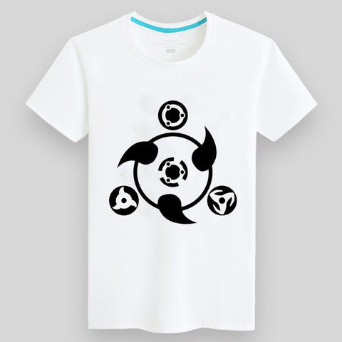 a89ceaa54 ... 100% Cotton Kids/Mens Summer Anime White Naruto T Shirt Streetwear Male  Tshirts Uzumaki
