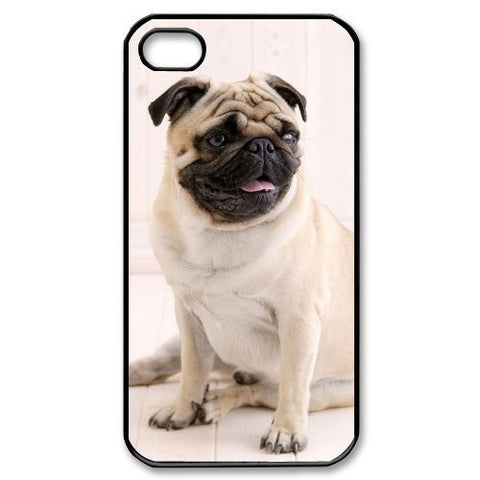 Adorable Pug Pugs Puppy Dog Durable Cover Case For iphone 4 4S 5 5S 5C 6 6s 6 PLUS 6s plus - Animetee - 1