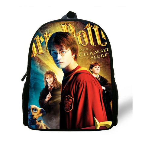 12-inch Mini Children Boy School Bags Harry Potter Backpack Kids Girls Harry Potter Mochila Escolar Menino Age 1-6