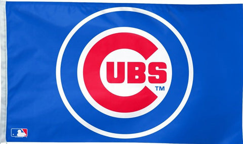 Chicago Cubs 3-by-5 foot Team Logo Flag, free shipping - Animetee