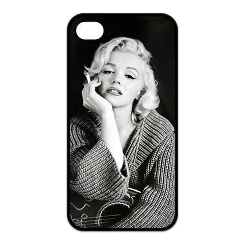 Marilyn Monroe Smoking Hard Case for iphone 4 4s 5 5s 5c 6 6s 6plus 6s plus- Celebs - Animetee - 1