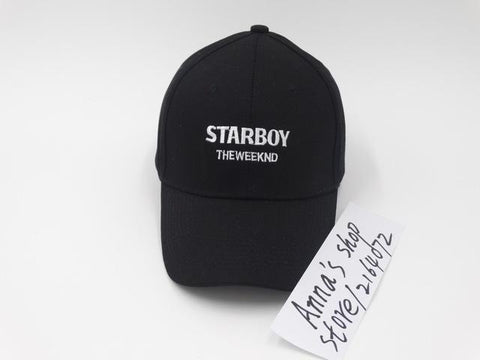 Rare The Weeknd XO Popular Fashion Baseball Dad Hat Starboy Cap men and  women leisure hats e0f6ef0b47d