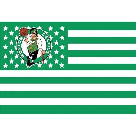 Boston Celtics USA star stripe NBA Premium Team basketball Flag 3X5FT - Animetee