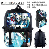 Anime Undertale Nylon Backpack Cartoon School Bag Student Bags Double Shoulder Waterproof Boy Girls Schoolbag