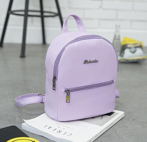 1e38577092 ... brands Backpack Candy color small backpack for teenagers girls high  quality ladies famous designer travel bag ...