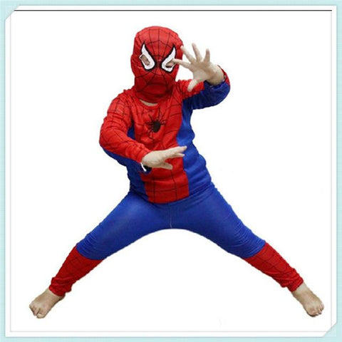 ... Red spiderman costume black spiderman batman superman halloween costumes for kids superhero capes anime cosplay carnival ...  sc 1 st  Animetee.com & Red spiderman costume black spiderman batman superman halloween ...