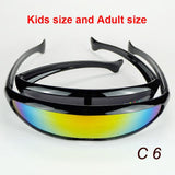 The Toy Sunglasses Shield Style Big And Small Fishes Design Alien Eyewear Family Set Help You Close To Your Kids