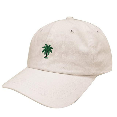 481058a4 ... Adjustable Embroidery Palm Trees Curved Dad Snapback Hats Take A Trip  Baseball Cap Coconut Trees Hat ...