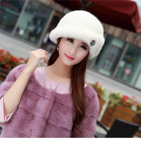 Fashion Winter Warm Russian Hat Women s Cap Solid Various Raeal Brbbit –  2018 AT 142 30 (Animetee.com Friends) bc572959726c