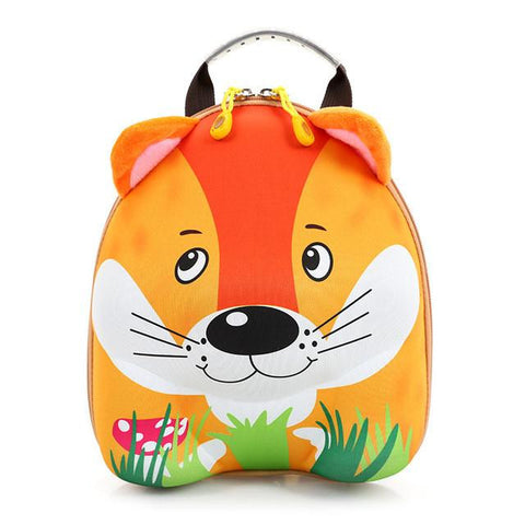 2016 Interting Design 3D Cartoon Baby Backpack Cute Mini Animal Kid's Schoolbag High qulity Waterproof Snack pack for Child