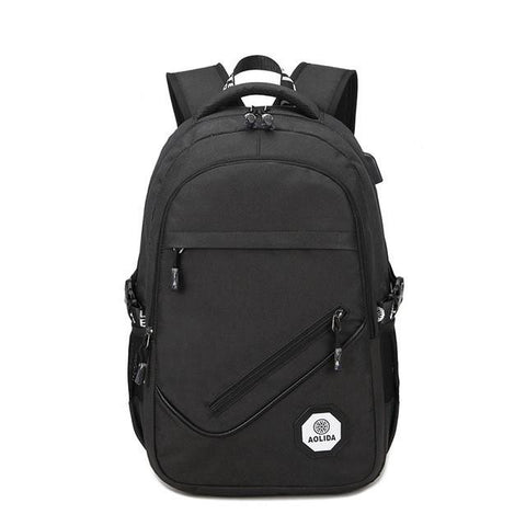 AOLIDA USB Antitheft Notebook Women Backpack Men's Laptop Backpacks Computer Bag mochila masculina Men Casual Daypacks Sac a dos