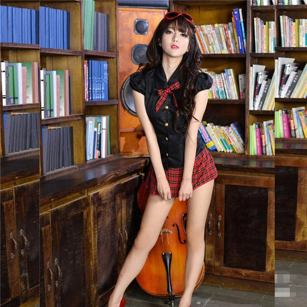 Charming School Student Teacher Cosplay Costumes Exotic -9900