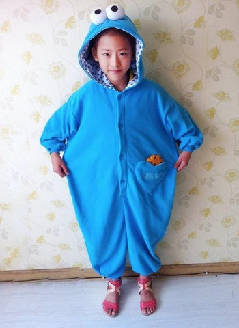 Children Boy Girls Sesame Street Costume Onesies Red elmo Cookie Monster Cosplay Pajamas Pyjamas Kids Sleepwear  sc 1 st  Animetee.com & Children Boy Girls Sesame Street Costume Onesies Red elmo Cookie ...