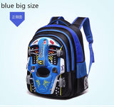3D cartoon car design child  backpack for age 3-8 years kid cute PU shell school bag