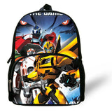 12-inch Little Boys Love Leader Optimus Prime Backpack Children Boy School Bags BUMBLEBEE Autobots Aged 1-6 Mochila Infantil