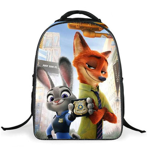 1e226e286381 Zootopia Children Backpacks Cute Animal FOX Kids School Bags for Girl –  2018 AT 142 30 (Animetee.com Friends)